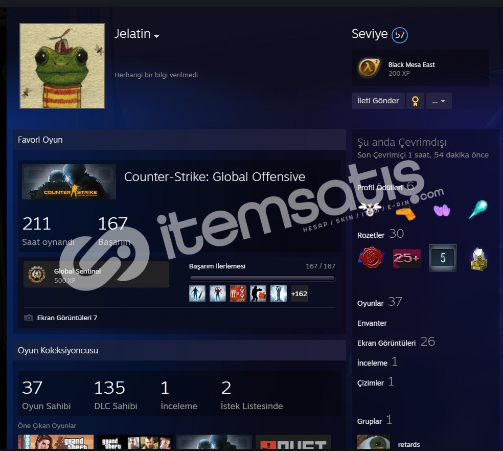 Bansız+56LV+ Prime CS+GTA5+Rust+Rainbow