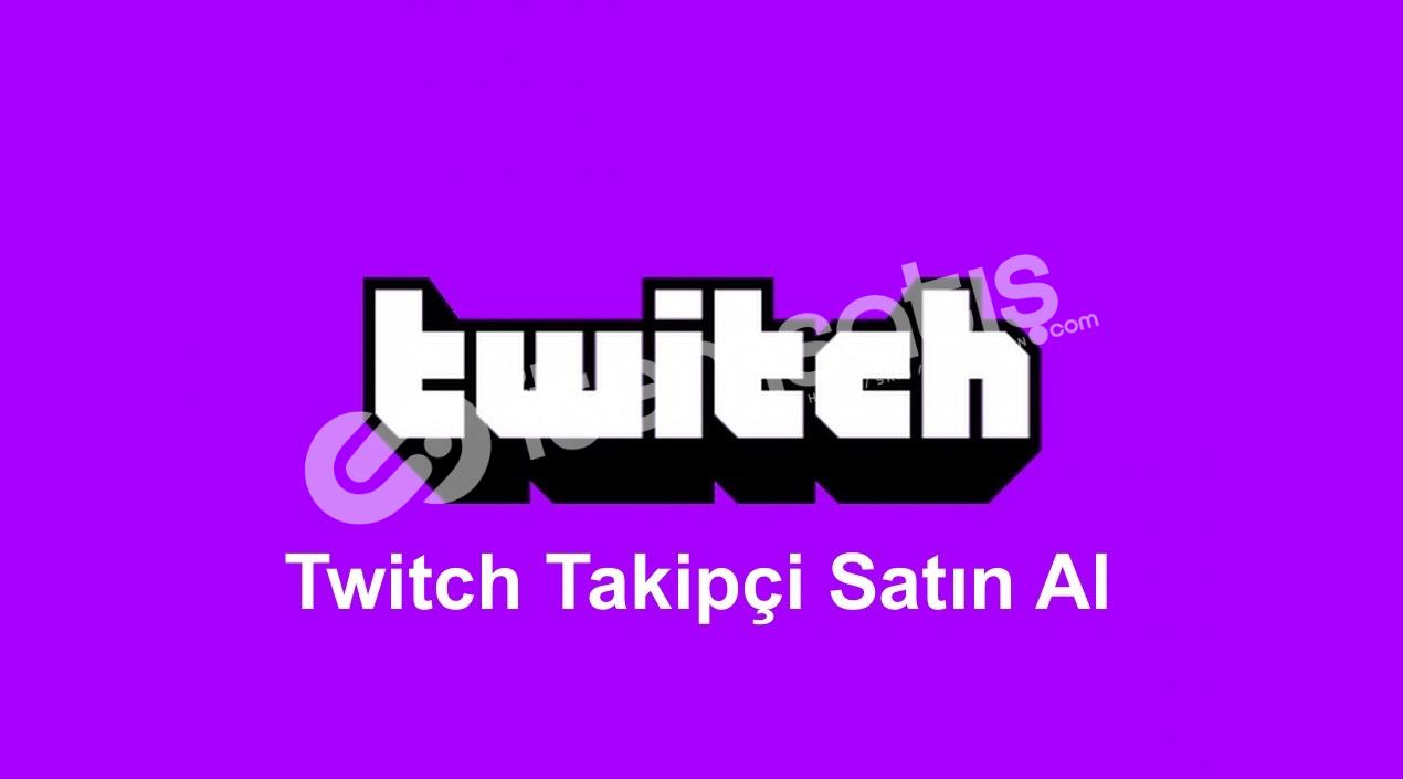 Twitch Takipçi SINIRSIZ STOK
