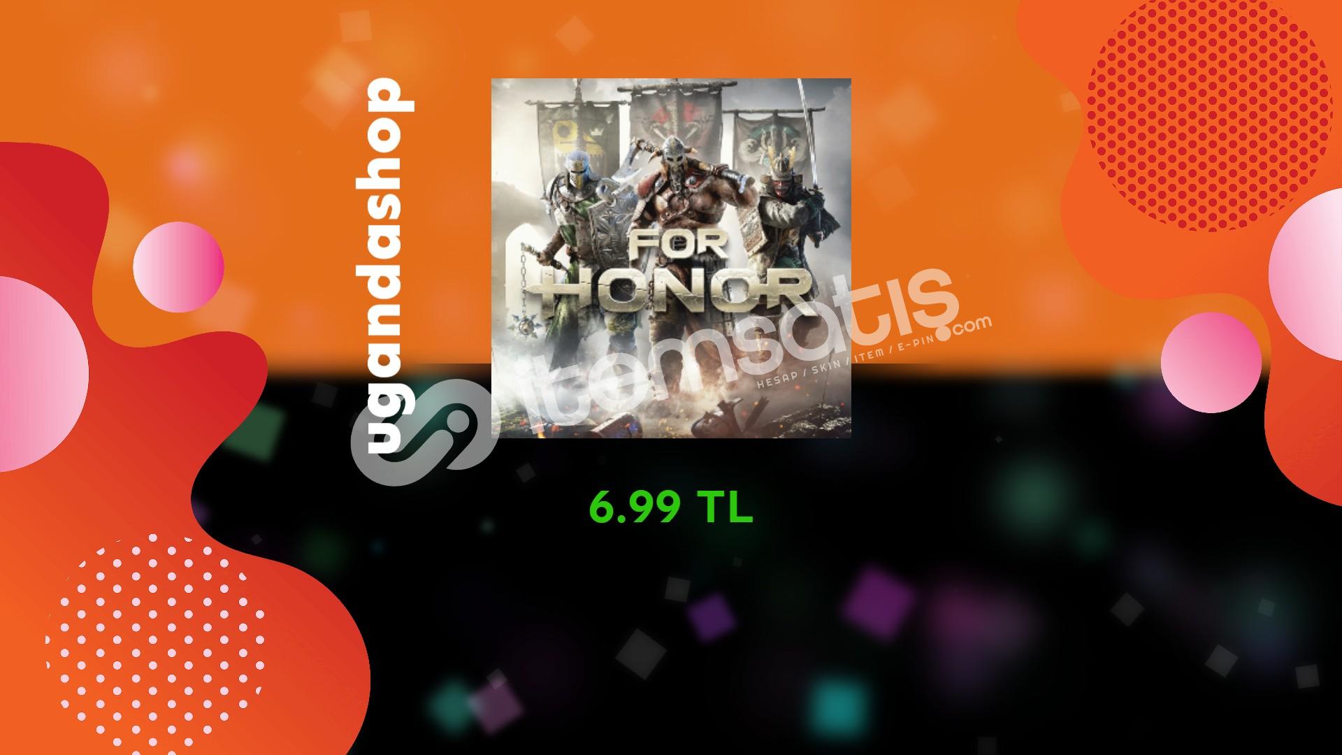 For Honor Online Uplay/Ubisoft Hesap + Garanti