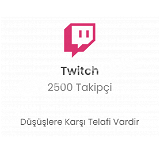 Twitch 2500 Takipçi 26 TL Düşmelere Karşı Telafi!