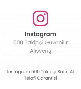 Instagram 500 Takipçi 19 TL Düşmelere Karşı Telafi!