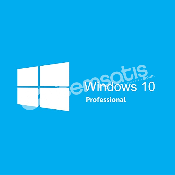 Windows 10 PRO Dijital Lisans Anahtarı 32&64 Bit