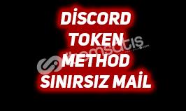 DİSCORD TOKEN METHOD - SINIRSIZ MAİL