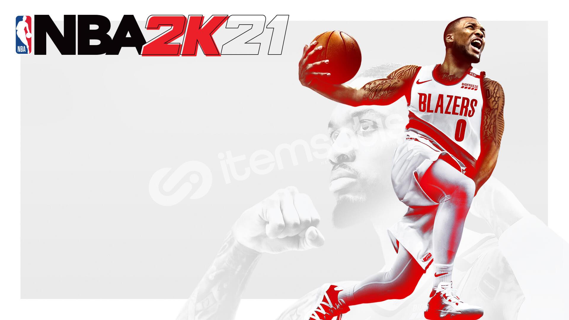 İçinde NBA2K21 bulunan Epic Games hesabı