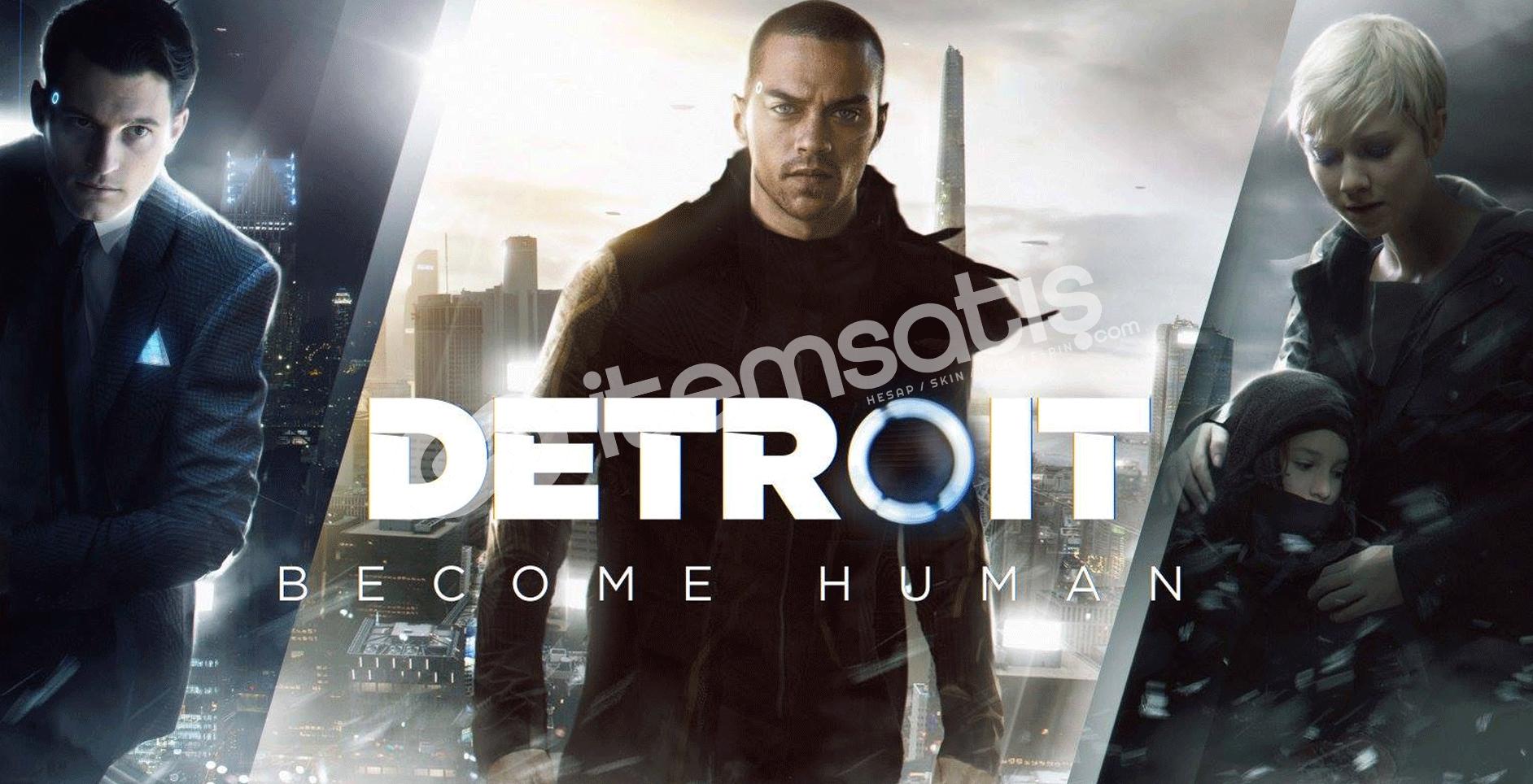 Detroit: Become Human Anlık Teslim 3₺