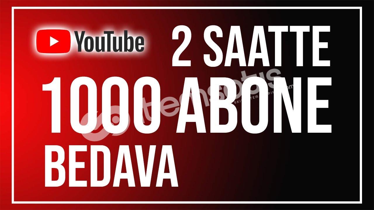 YouTube Abone Kasma Methodu