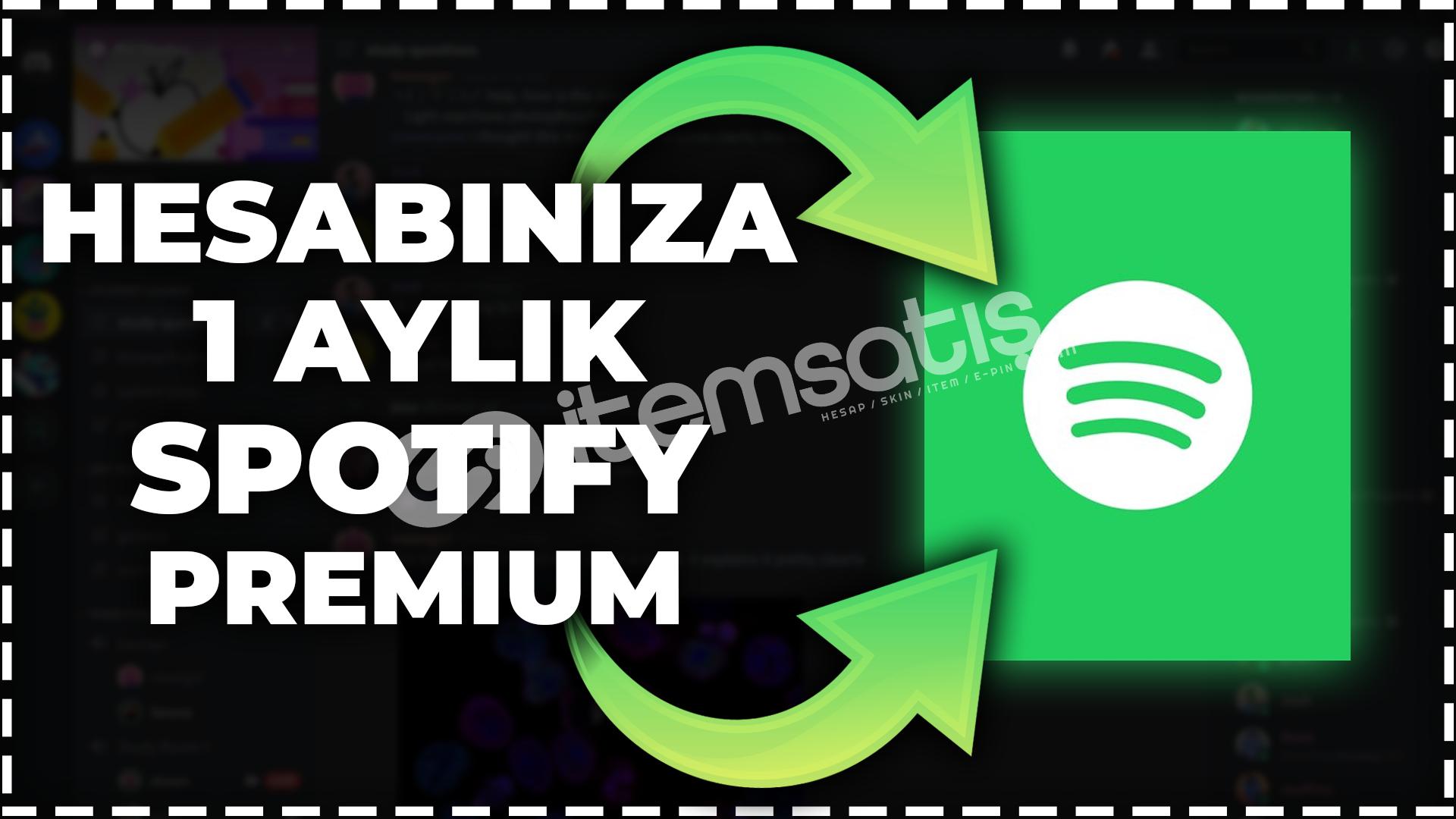 Hesabınıza 1 Aylık Spotify Premium!