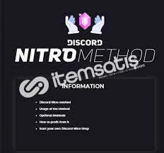 Discord Nitro METHOD 5 TL