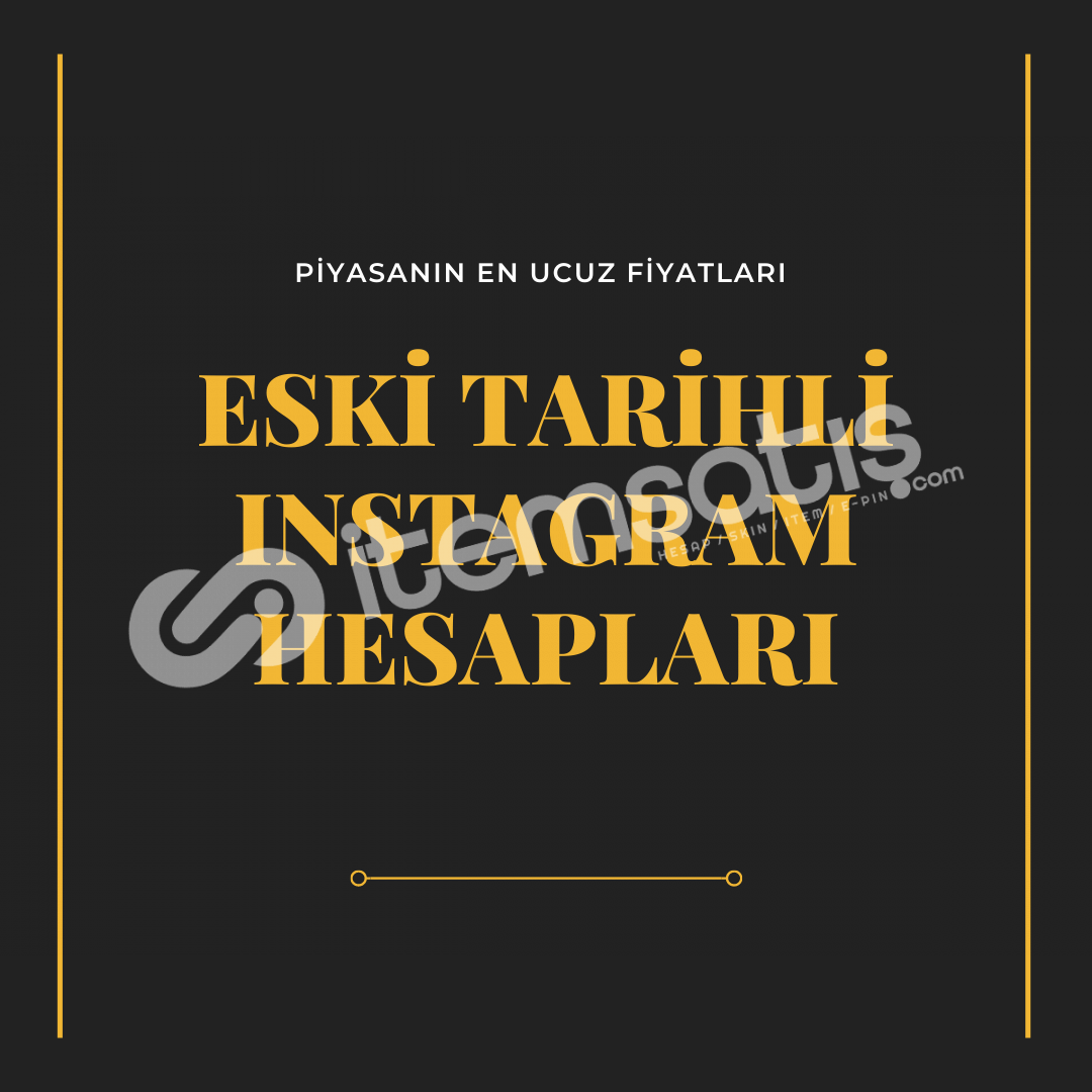Eski Tarihli Instagram Hesabı (2013)