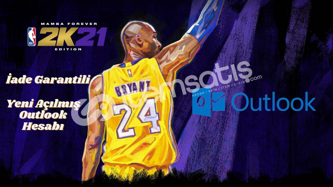 NBA 2K21 + OUTLOOK HESABI AYRINTILAR AÇIKLAMADA !!