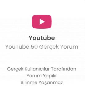 YouTube 50 Farklı Hesap Yorum
