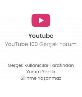 YouTube 100 Farklı Hesap Yorum