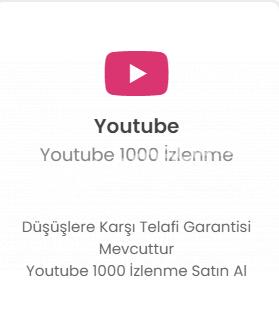 Youtube 1000 İzlenme 20 TL Düşmelere Karşı Telafi!