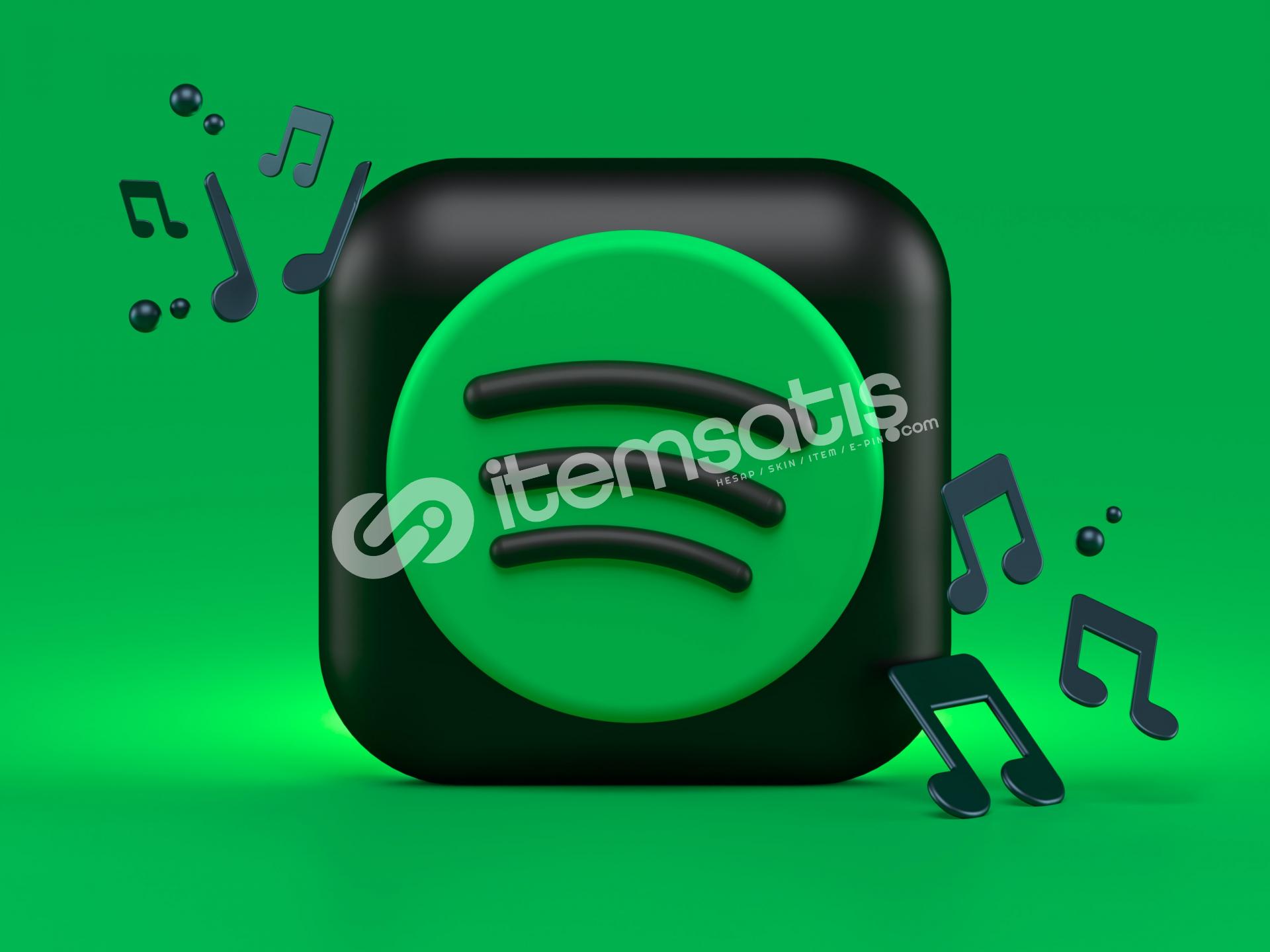 Spotify 1 aylık Premium hesap
