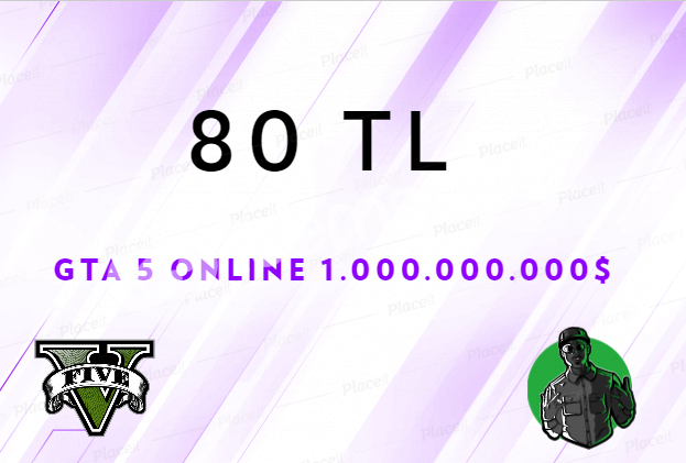 GTA 5 ONLINE - 1.000.000.000$ PARA - 80 TL - BAN RİSKİ YOK