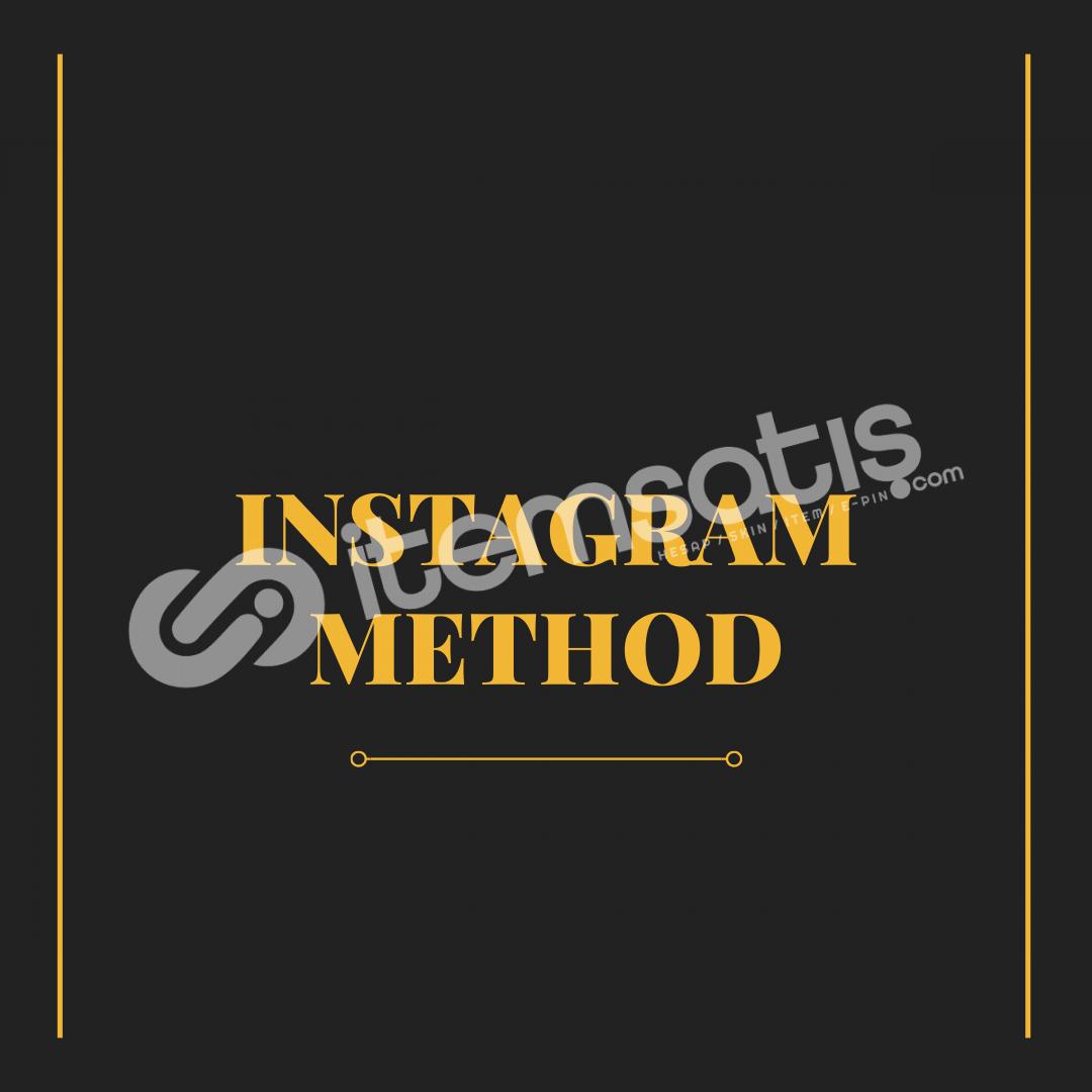 Instagram Hesap Kapatma Method - %100 Çalışır