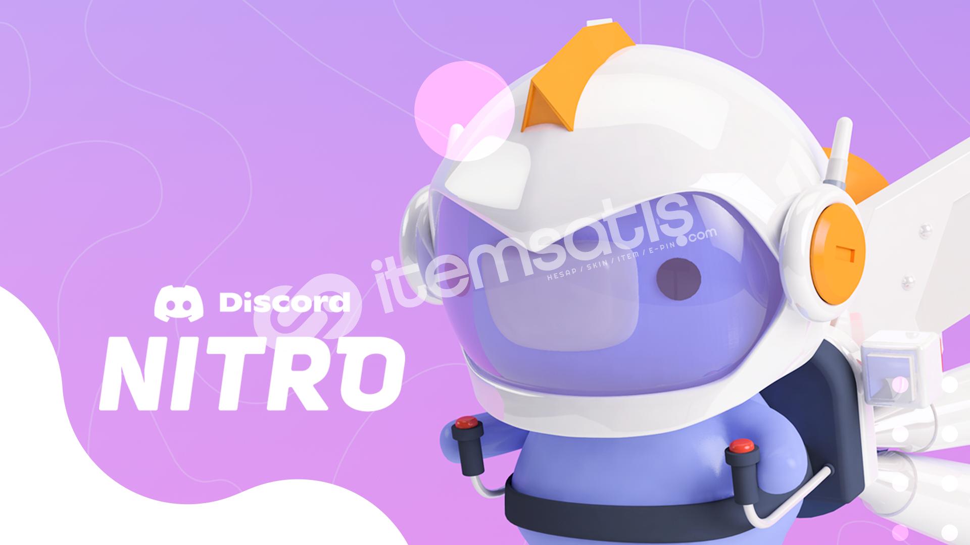 Discord 3 Aylık 2 Boostlu Nitro ( Stoklu Ürün )