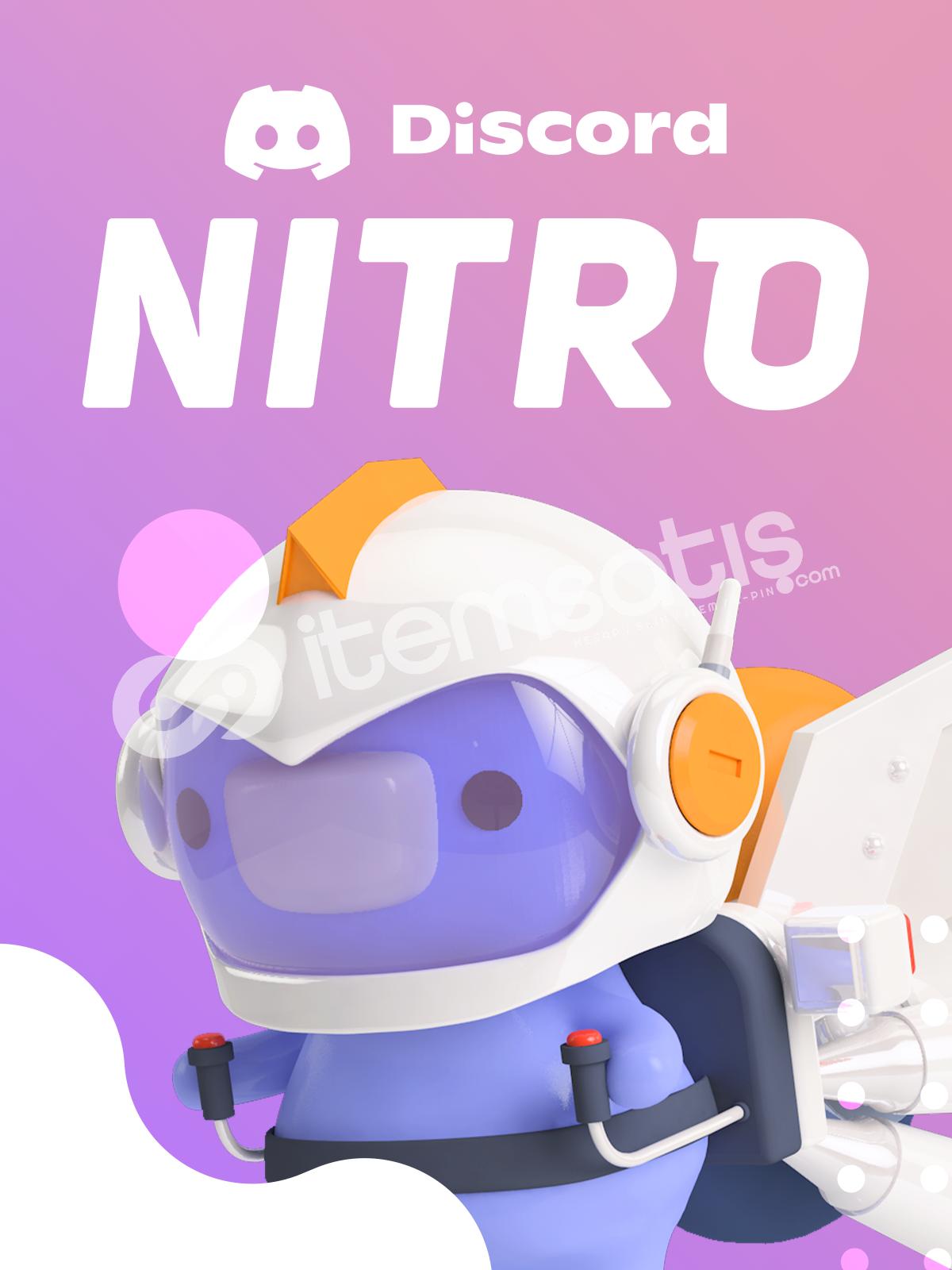 Discord 1 Aylık Nitro Classicli Hesap