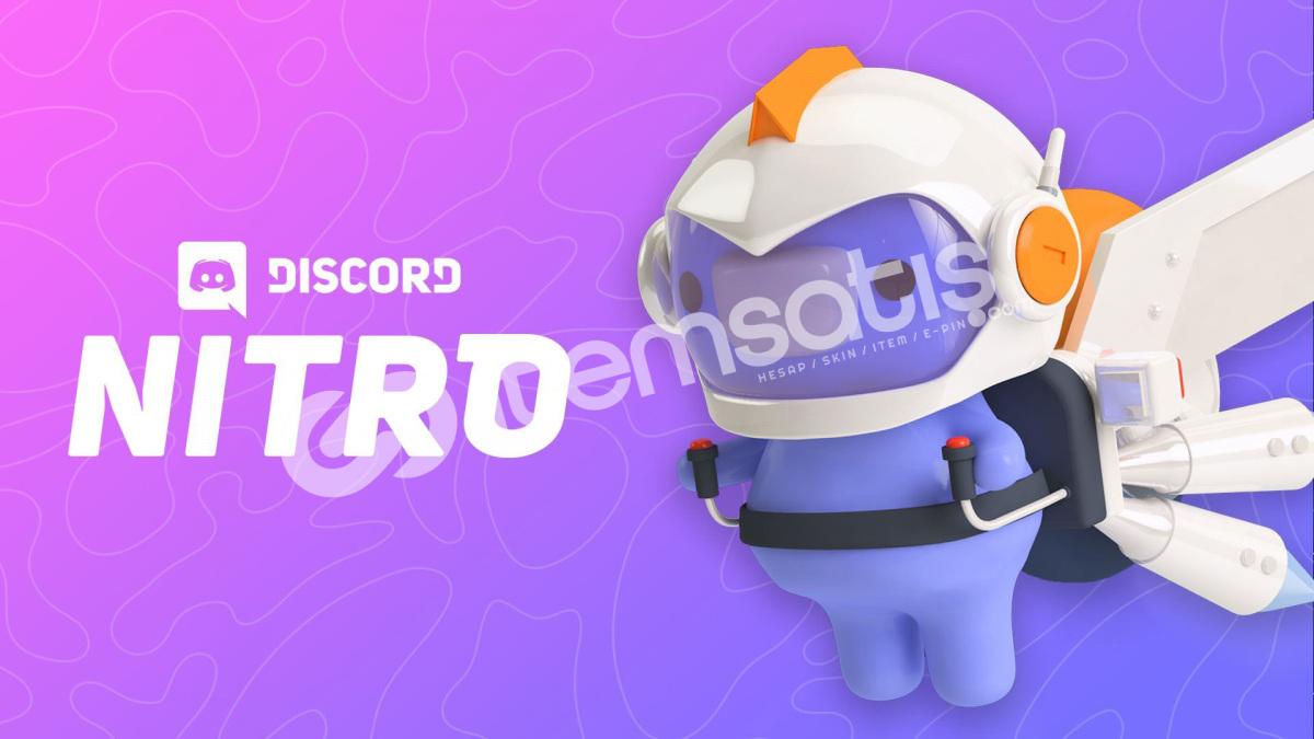 3 Aylık Discord Nitro Üyeliği