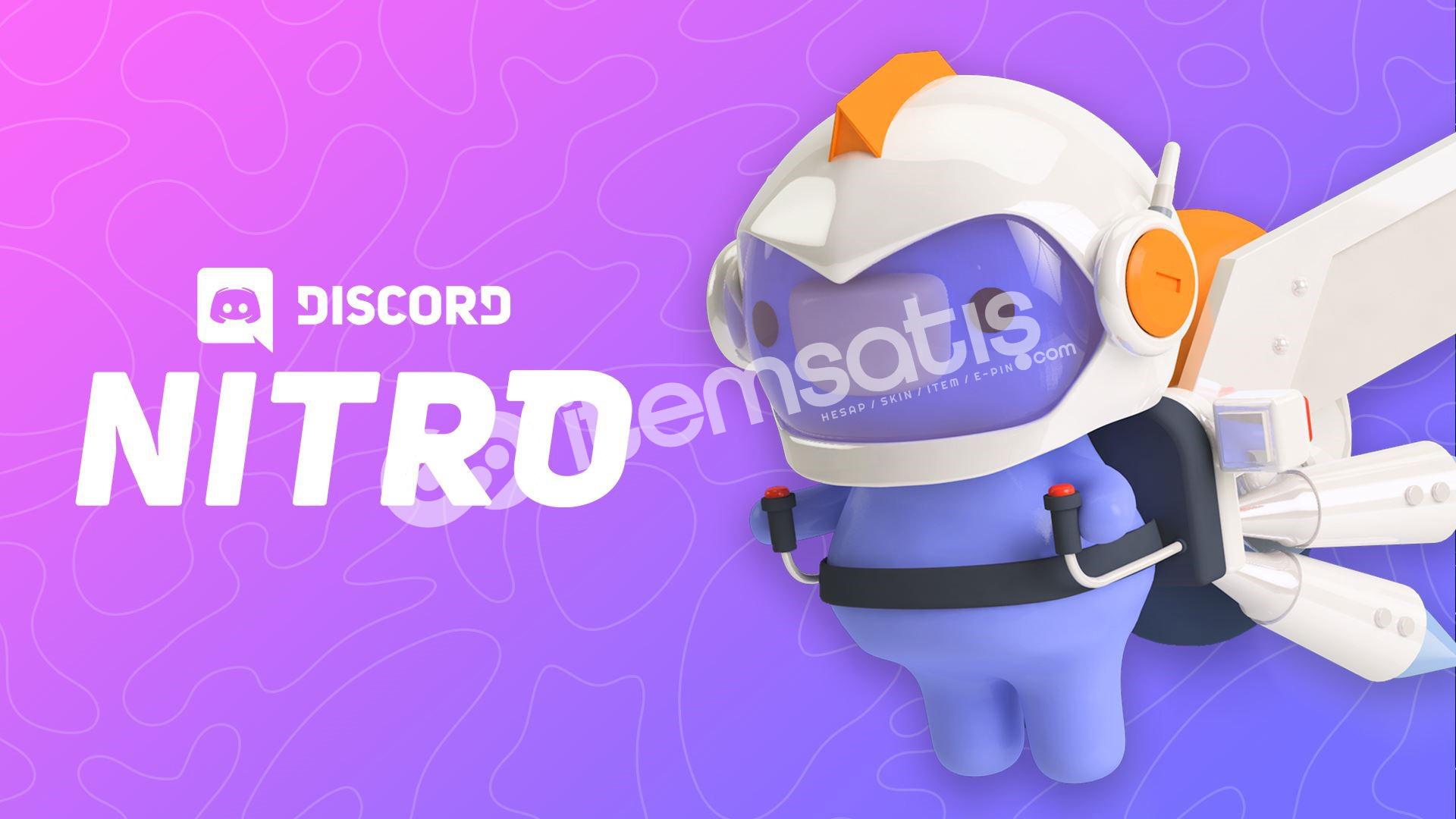 3 Aylık Boostlu Discord Nitro stok: sınırsız