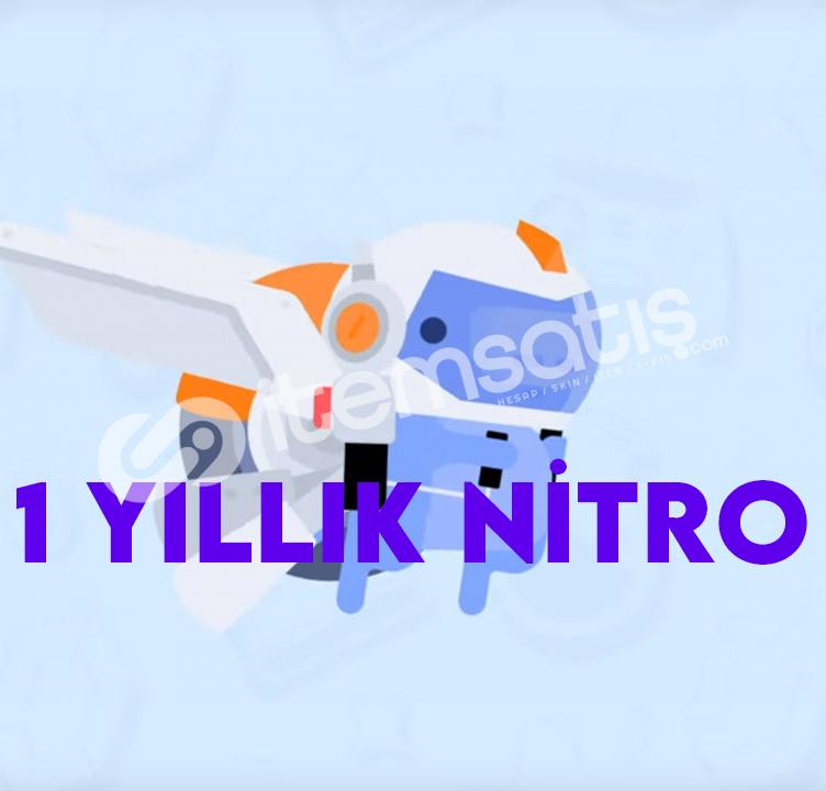 Discord 1 Yıllık 2 Boostlu Nitro
