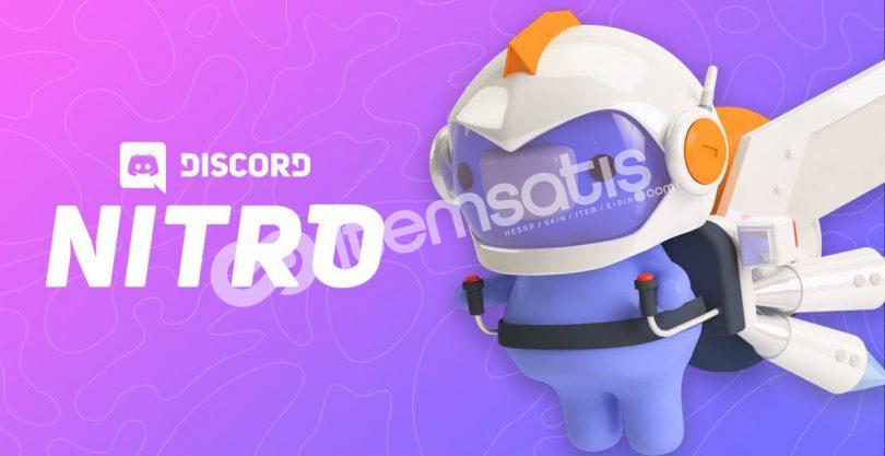 Discord 3 Aylık x2 Takviyeli Nitro