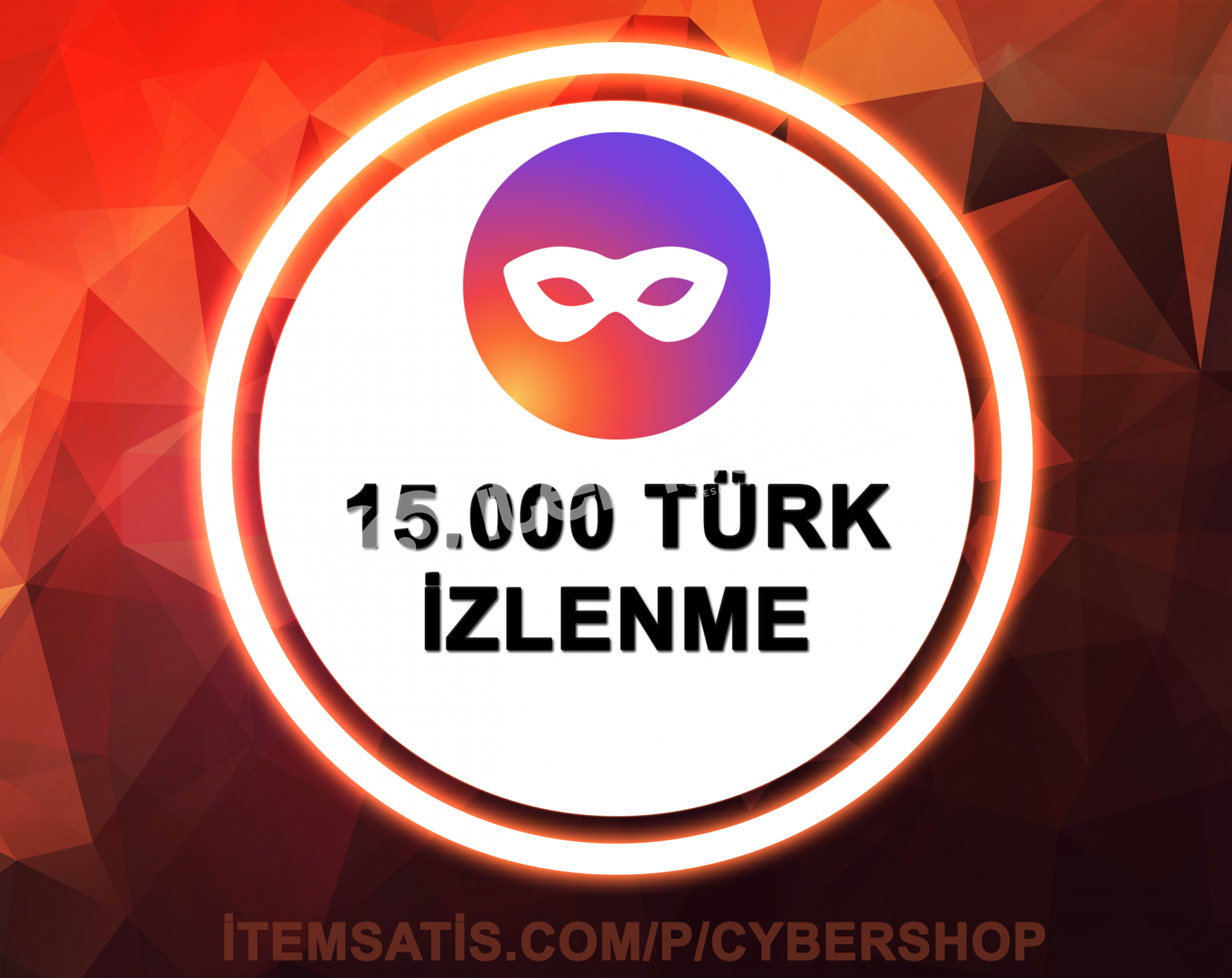 15000 [TÜRK] İzlenme (Anında Teslim)