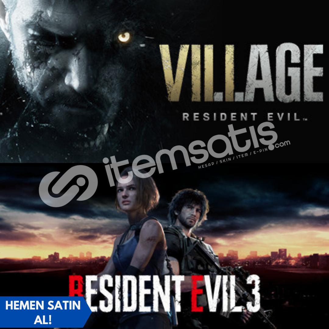 Resident Evil Village Deluxe Edition + Resident Evil 3