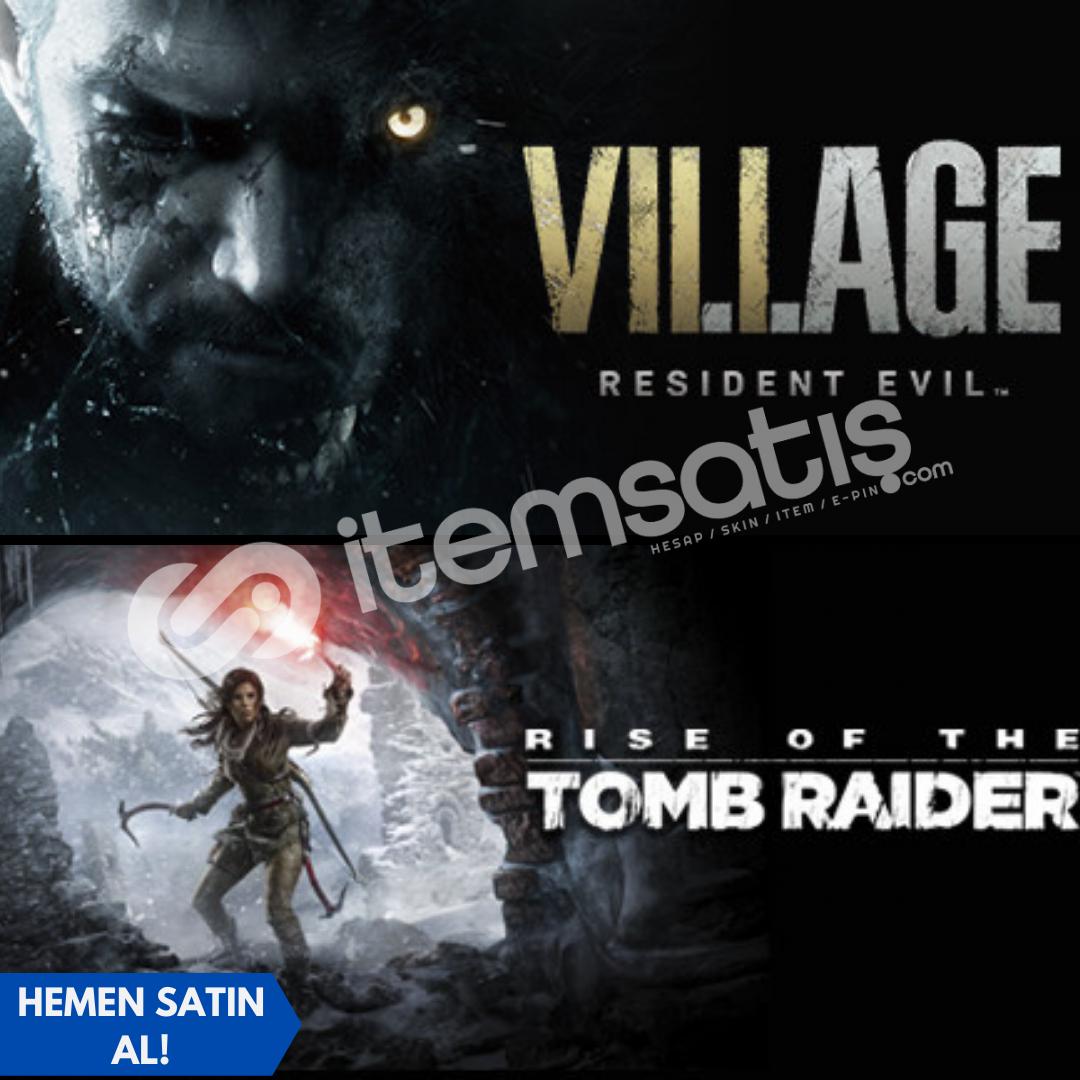 Resident Evil Village Deluxe + Rise of the Tomb Raider