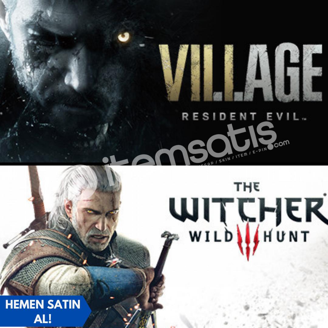 Resident Evil Village + Witcher 3: Wild Hunt