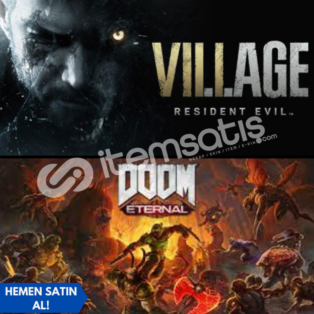 Resident Evil Village Deluxe Edition + Doom Eternal
