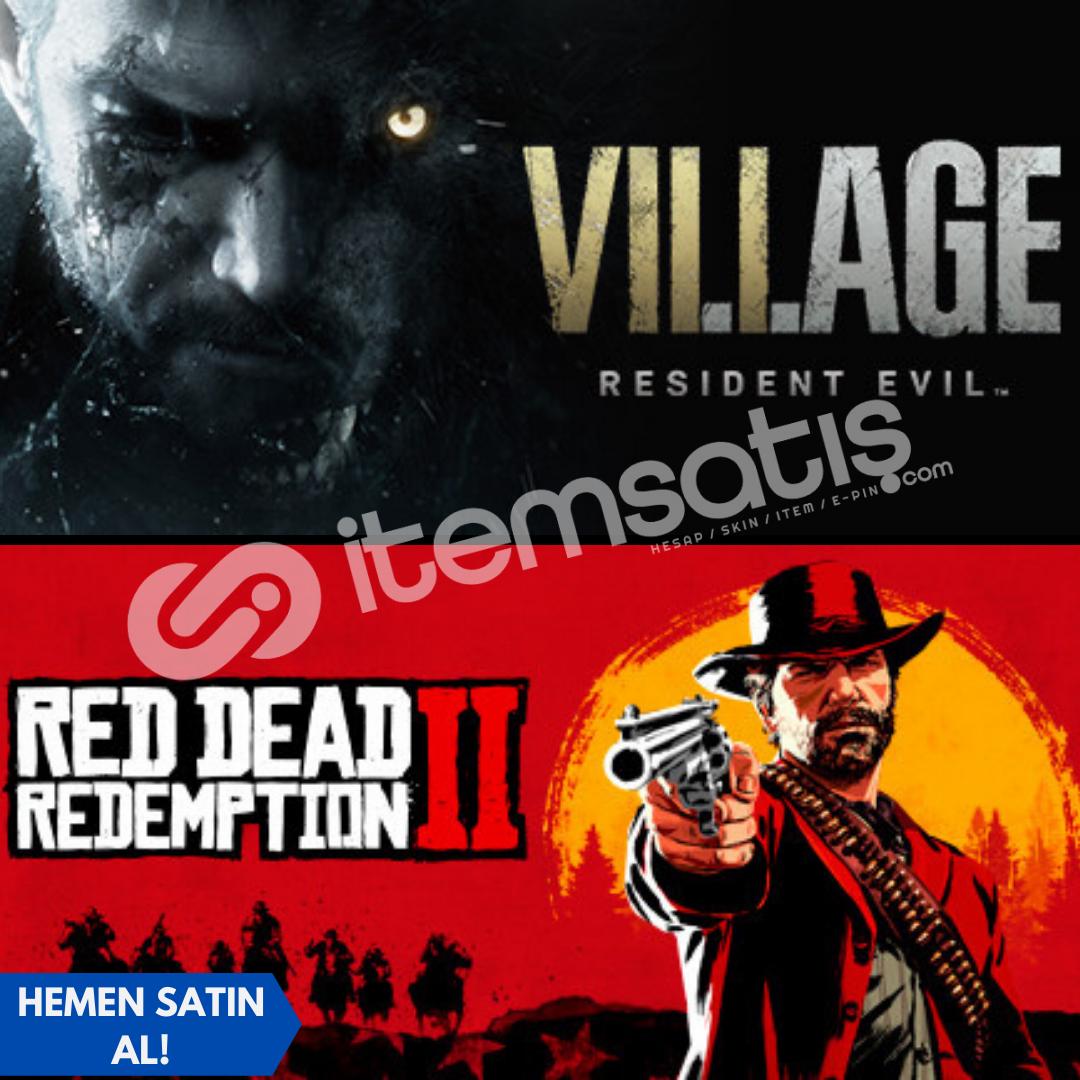 Resident Evil Village + Red Dead Redemption 2