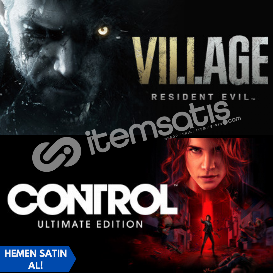 Resident Evil Village + Control Ultimate