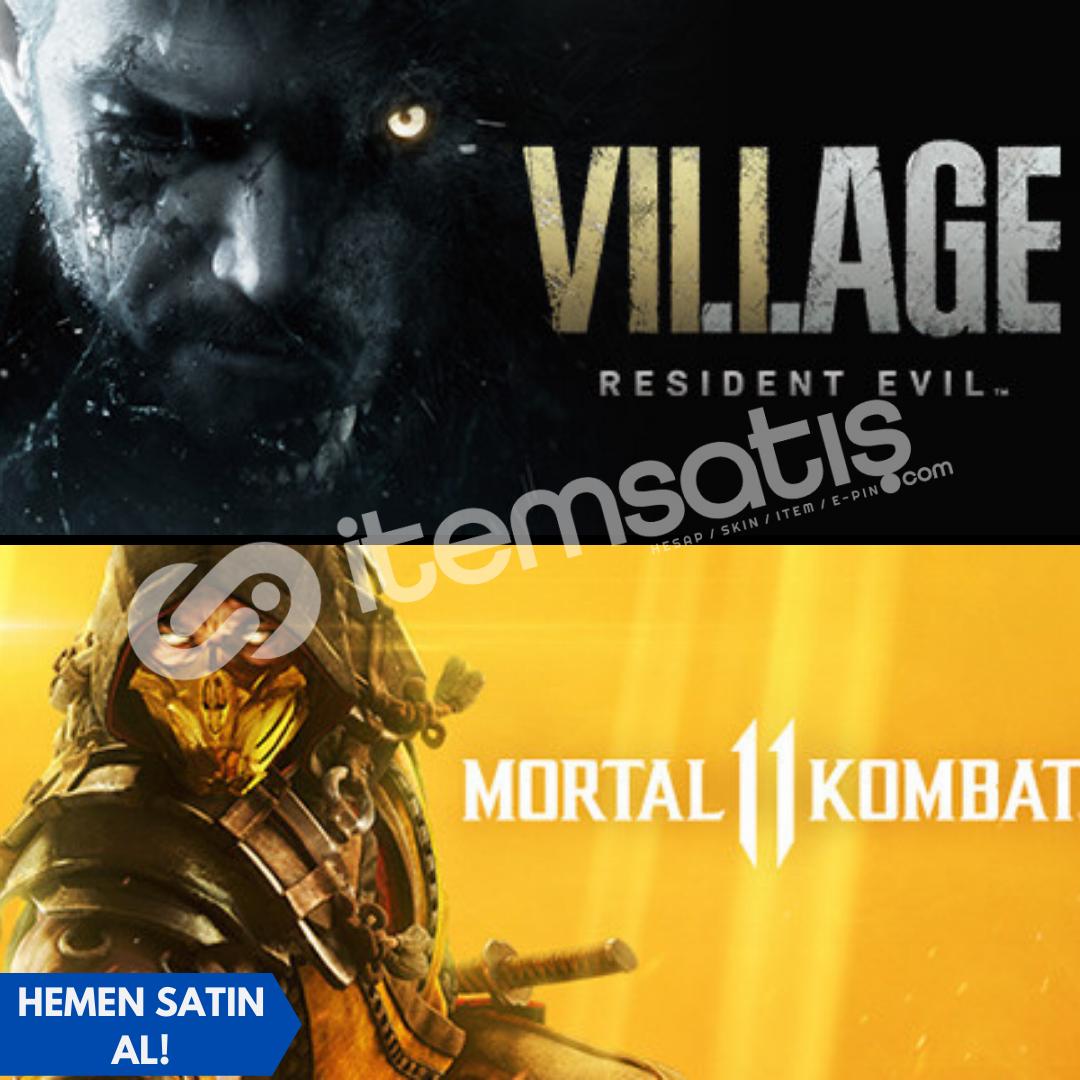 Resident Evil Village + Mortal Kombat 11 Pre