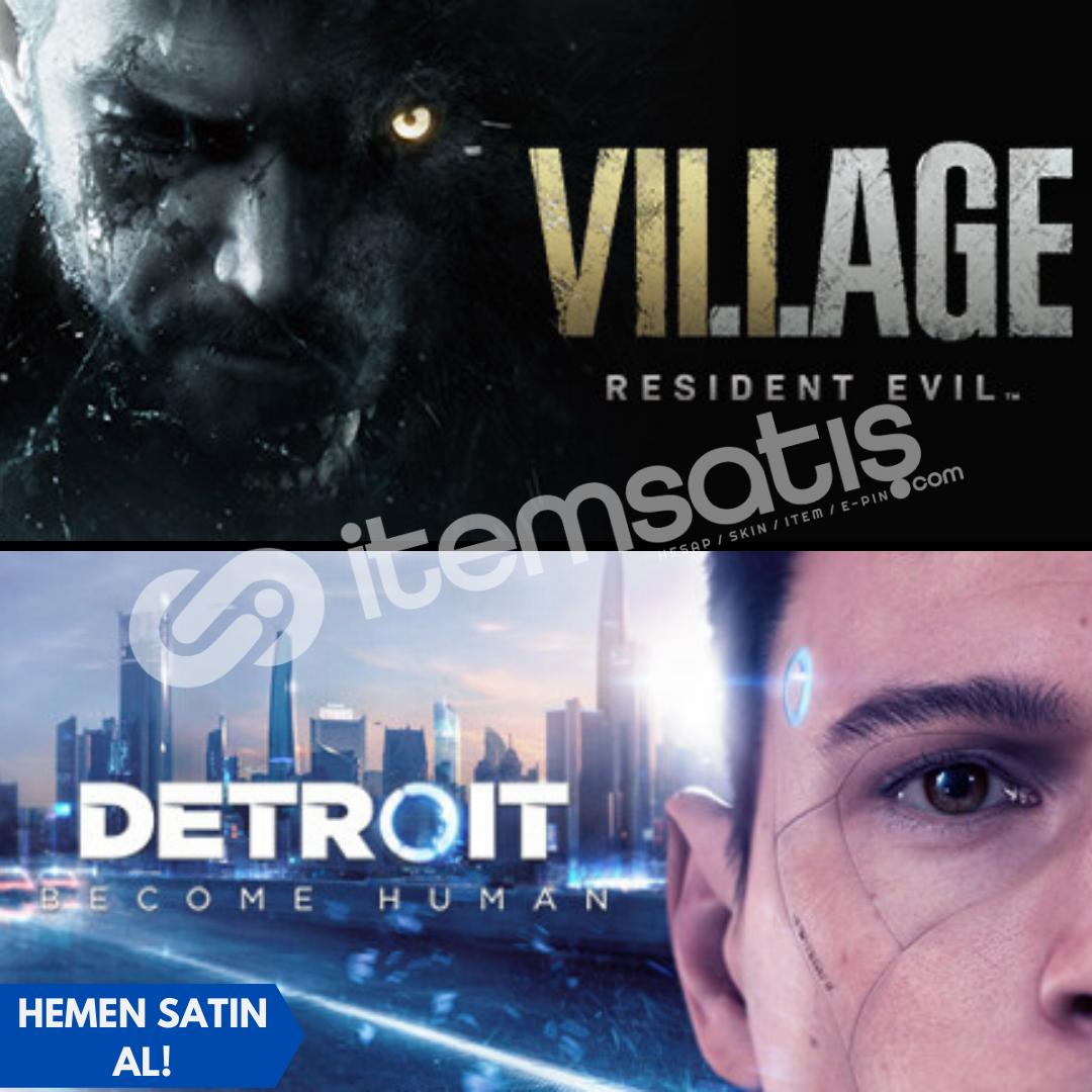 Resident Evil Village + Detroit: Become Human