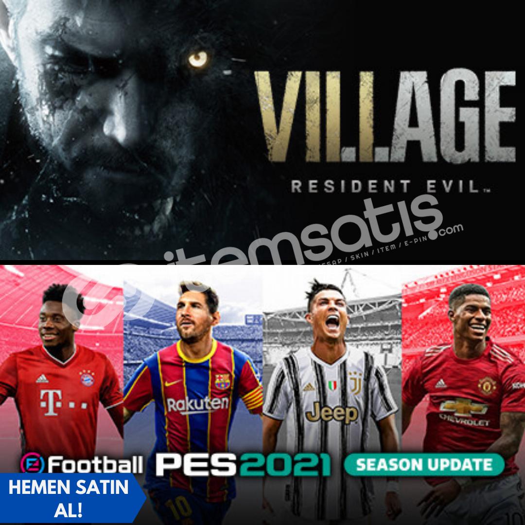 Resident Evil Village Deluxe + eFootball Pes 2021 FULL DLC