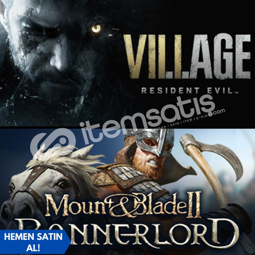 Resident Evil Village+Mount&Blade 2 Bannerlord