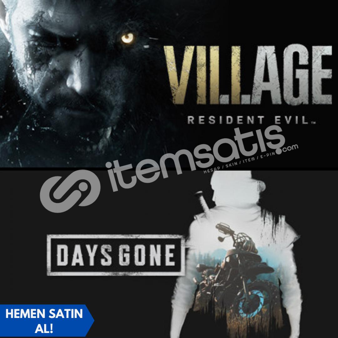 Resident Evil Village Deluxe + Days Gone