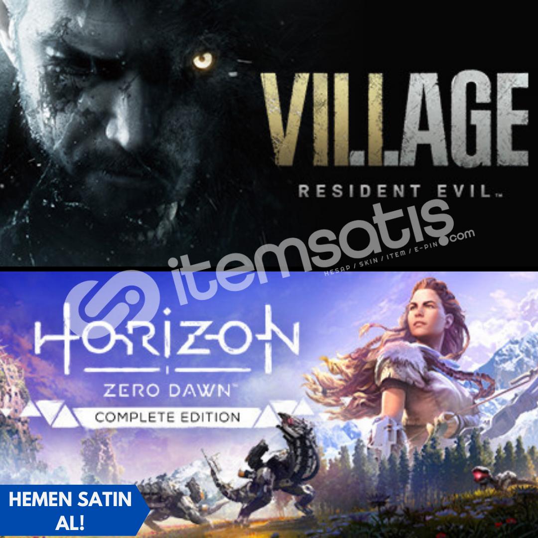 Resident Evil Village Deluxe + Horizon New Dawn