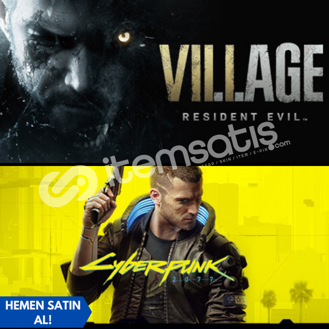 Resident Evil Village Deluxe + Cyberpunk 2077