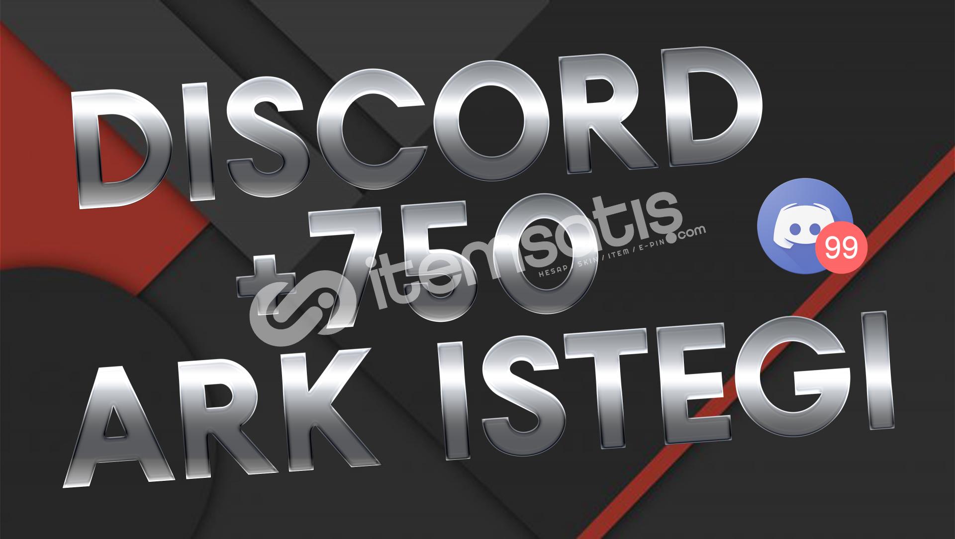 Discord 750 Adet Arkadaşlık İsteği
