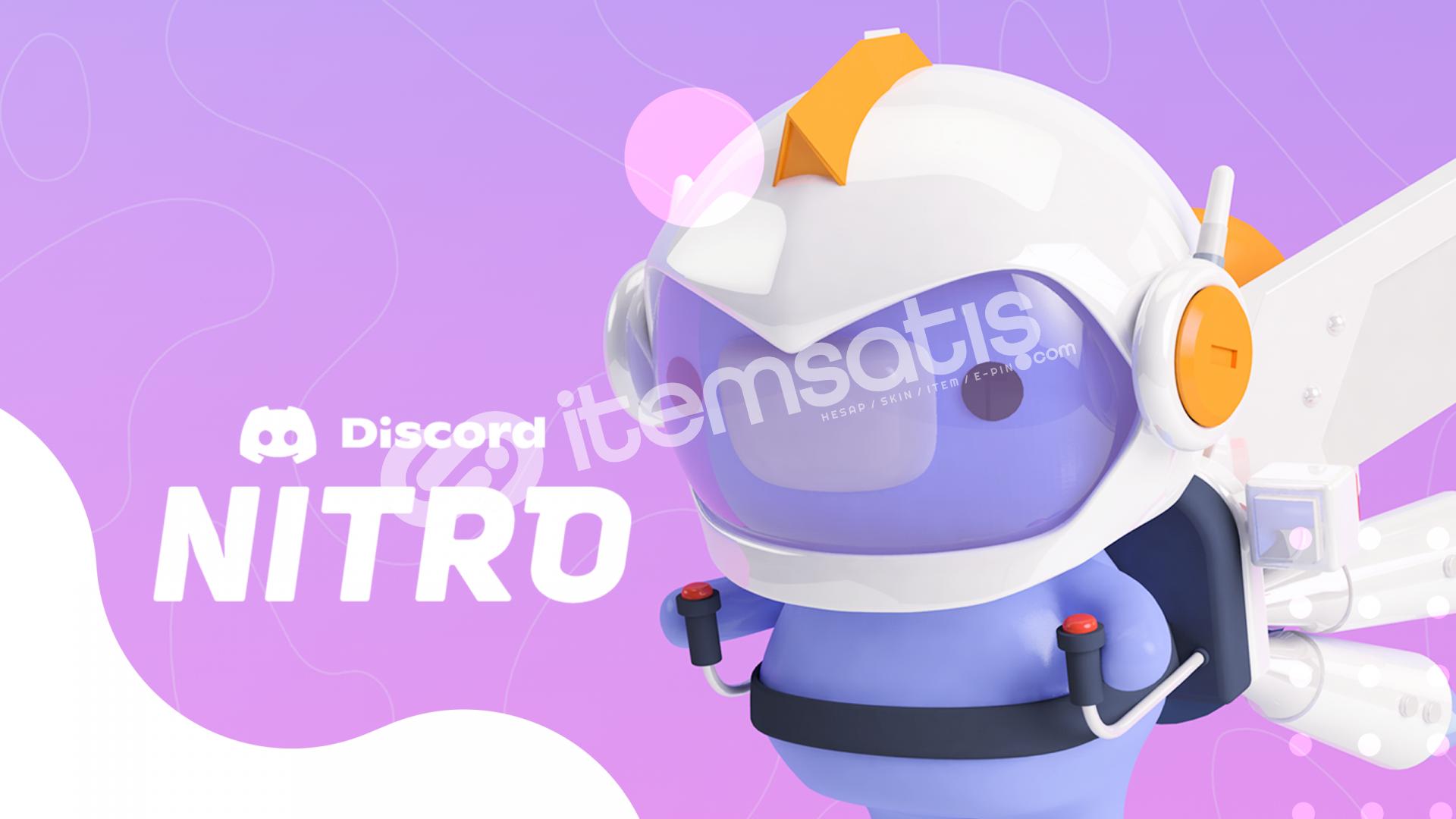 3 Ay Discord Nitro + 2x Takviye