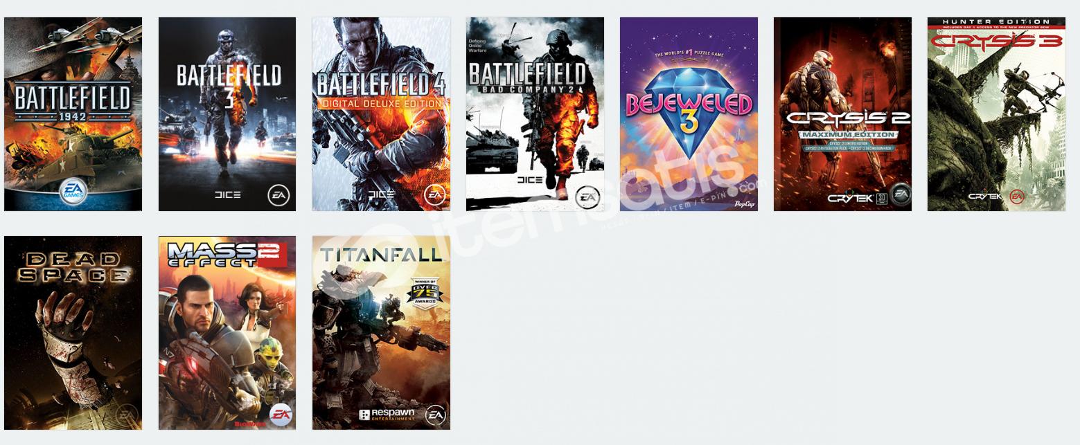 Origin 10 oyunlu hesap Uygun Fiyatlı