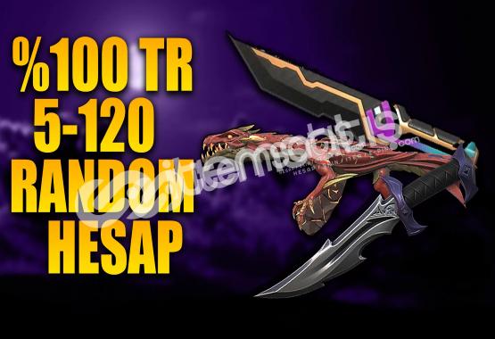 %100TR VIP 5-120 Skinli %40 Bıçak Yorum Yapana Hediye!