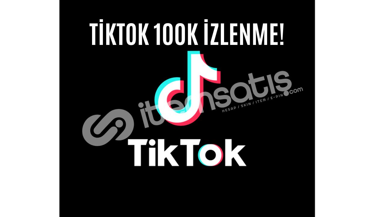 TİKTOK GERÇEK 100.000 İZLENME !!! BU FİYATA YOK!!!! KEŞFET!