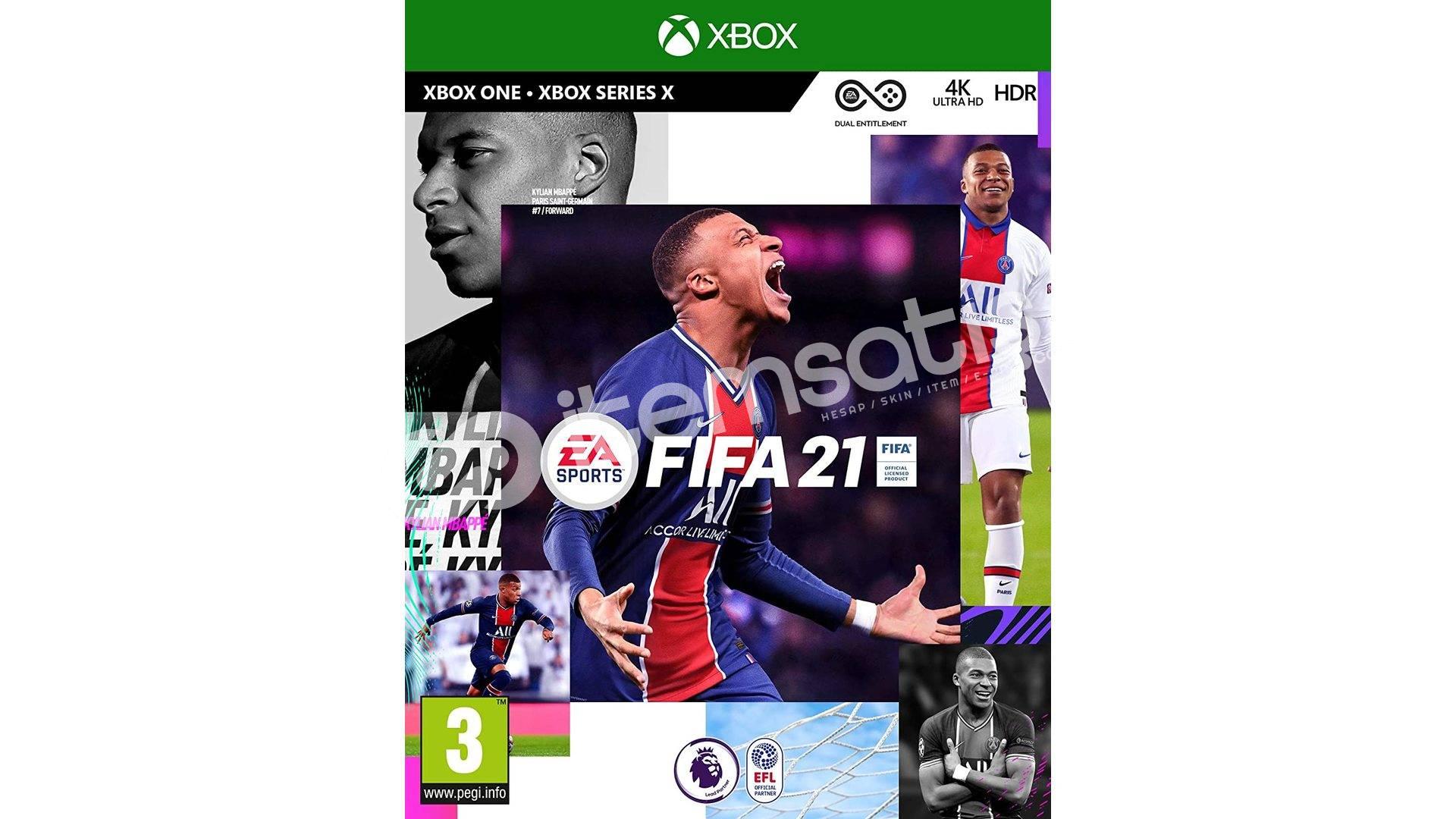 XBOX// FIFA 21+ +3 OYUN