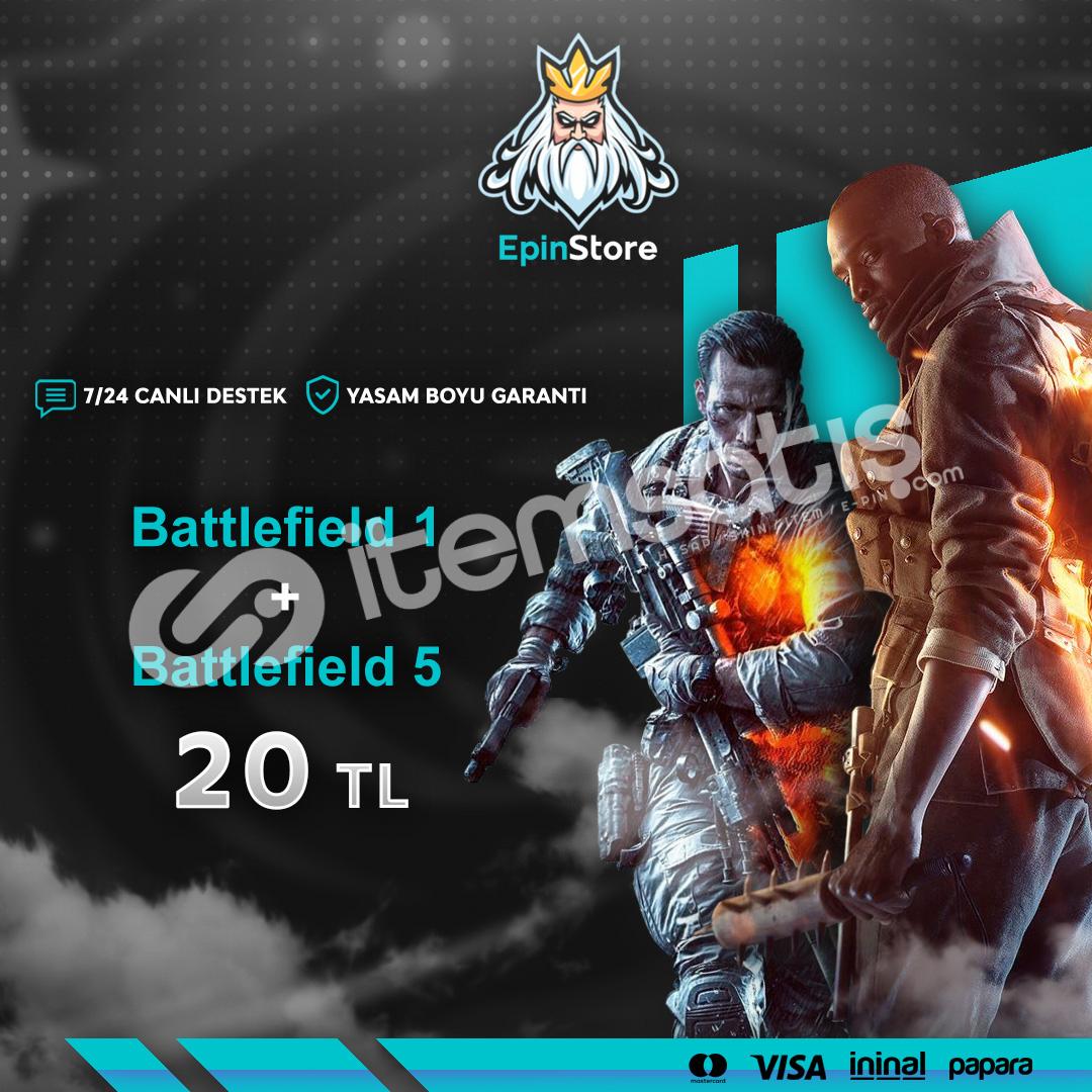 Battlefield V + Battlefield 1