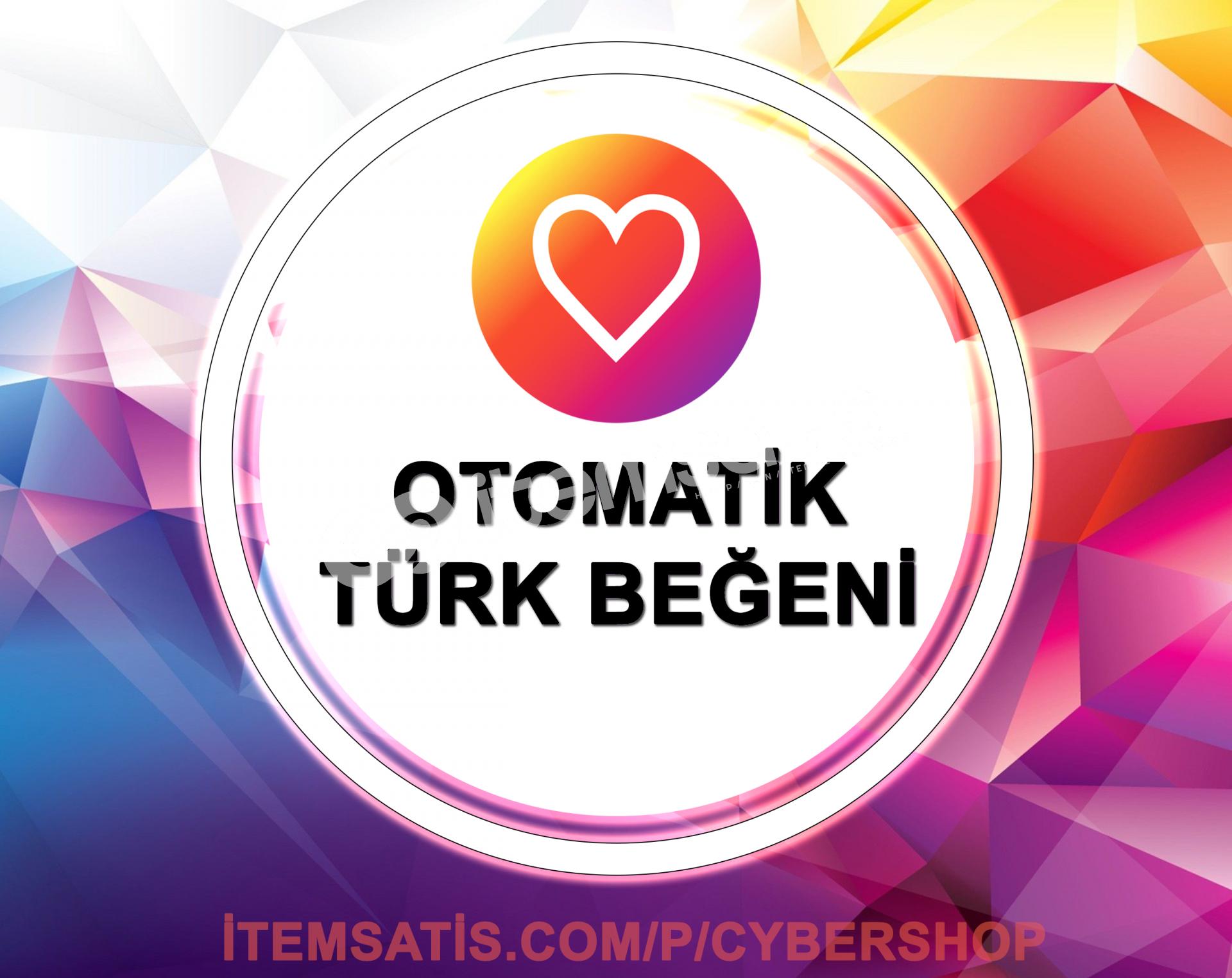 Otomatik 5x 500 Türk Beğeni Paketi