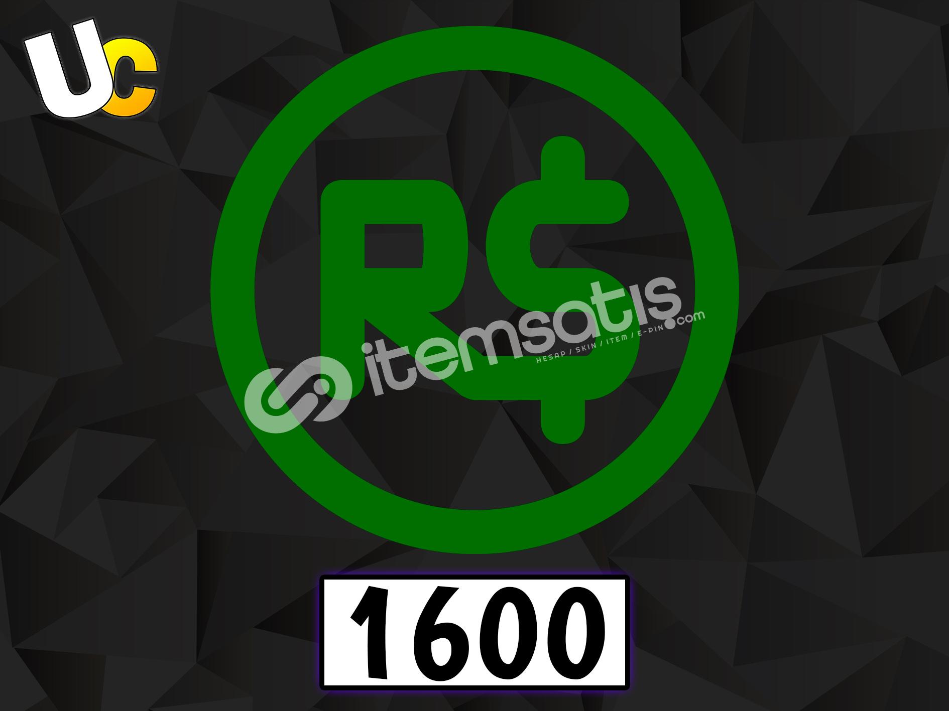 1600 Robux
