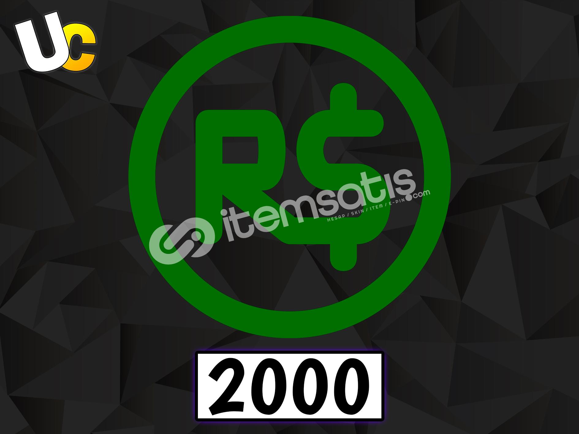 2000 Robux